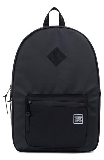 Herschel Supply Co. Ruskin Studio Collection Backpack - Black