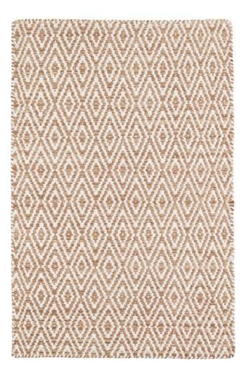 Dash & Albert Rhodes Woven Rug, Size Swatch - Beige