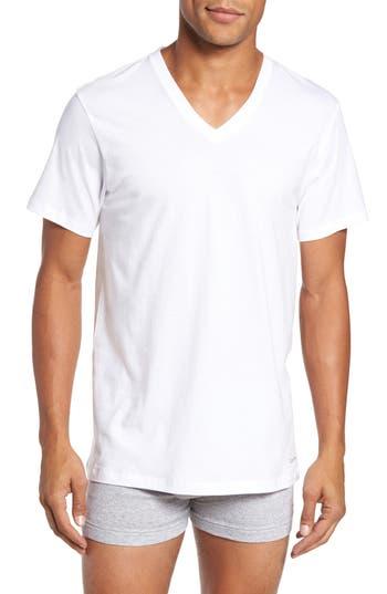 Calvin Klein 4-Pack V-Neck T-Shirt