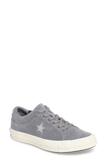 Converse Chuck Taylor All Star One Star Low-Top Sneaker, Grey