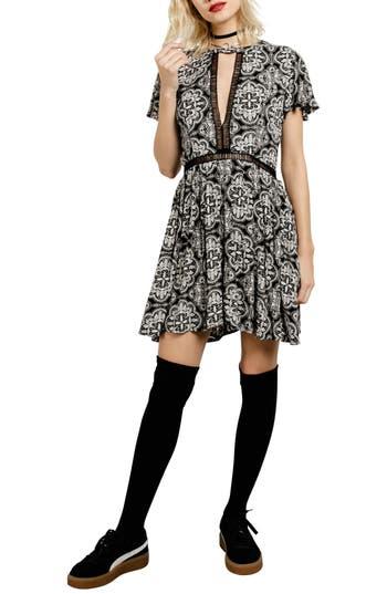 Volcom Even More Cutout Dress, Black
