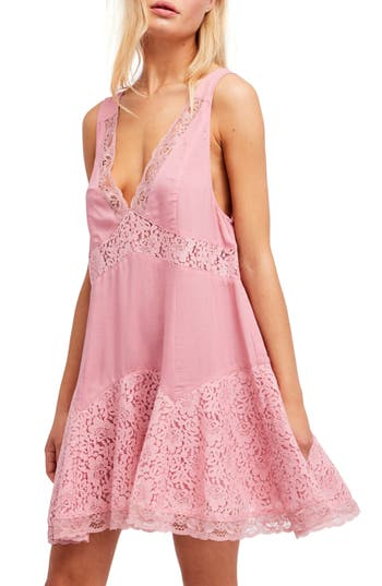 Free People Any Party Slipdress, Pink