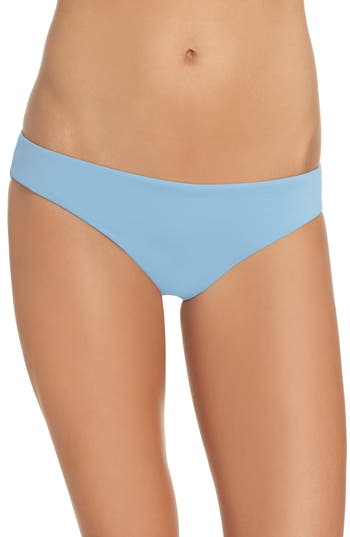 Women's Seafolly Active Bikini Bottoms, Size 4 US / 8 AU - Blue
