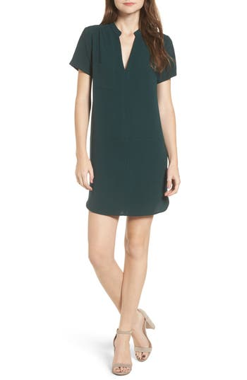 Hailey Crepe Dress, Green