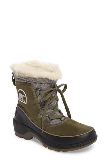 Sorel Tivoli Iii Waterproof Boot- Green
