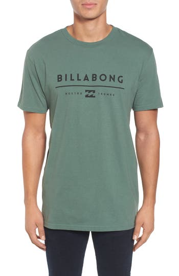 Billabong Unity Logo Graphic T-Shirt, Green
