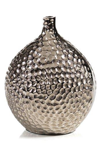 Zodax Crete Hammered Vase, Size One Size - Metallic