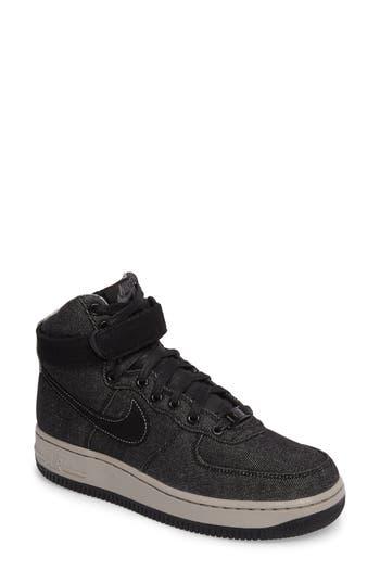 Nike Air Force 1 High Top Se Sneaker- Black