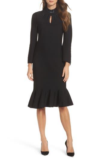 Nic+Zoe Sequin Midi Dress, Black