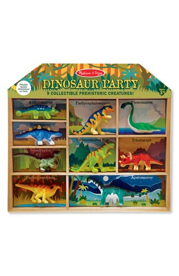 Toddler Boy's Melissa & Doug 9-Piece Dinosaur Party Play Set