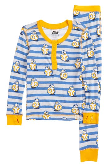 Boys Munki Munki Star Wars(TM)  Bb8 Fitted TwoPiece Pajamas