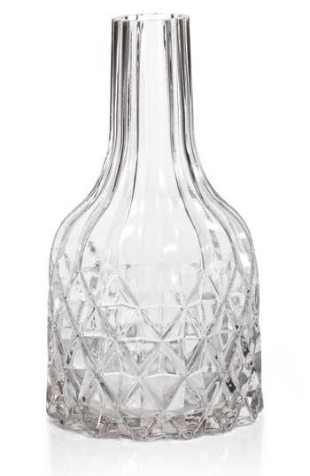 Zodax Maya Cut Glass Vase, Size One Size - White
