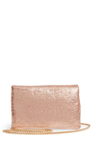 Street Level Metallic Crossbody Bag - Metallic