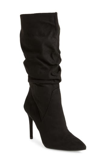 Jessica Simpson Lyndy Slouch Boot, Black