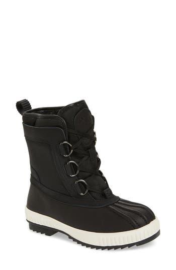 Pajar Kai Waterproof Insulated Winter Duck Boot, Black