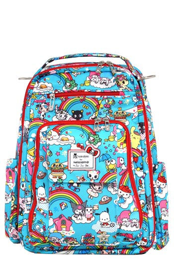 Infant JuJuBe X Tokidoki For Hello Sanrio Rainbow Dreams Be Right Back Diaper Backpack