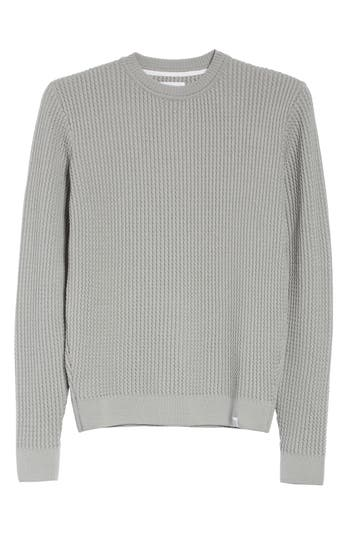 Norse Projects Sigfred Merino Wool Sweater, Grey