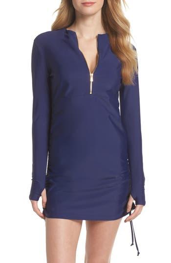 Mott 50 Sonja Upf 50 Cover-Up Swim Dress, Blue