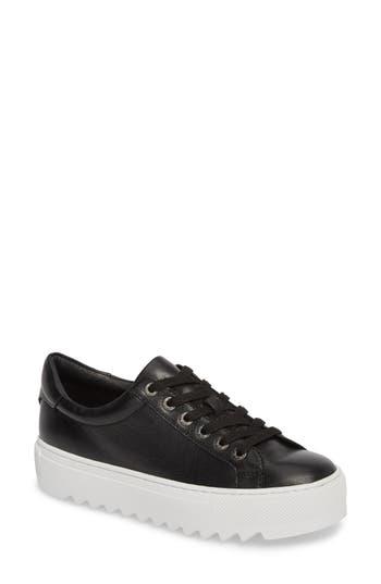 Jslides Sapphire Platform Sneaker, Black