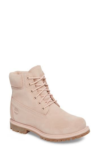 Women's Timberland 6 Inch Boot, Size 6 M - Pink