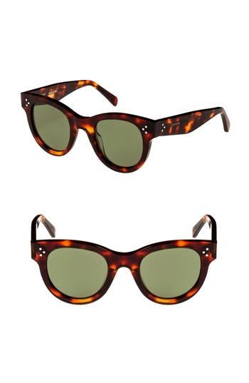 Céline 48mm Cat Eye Sunglasses