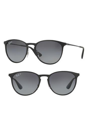 Ray-Ban Erika 5m Sunglasses - Shiny Black