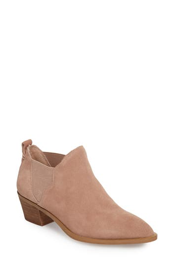 Sole Society Nancy Scalloped Chelsea Bootie, Pink
