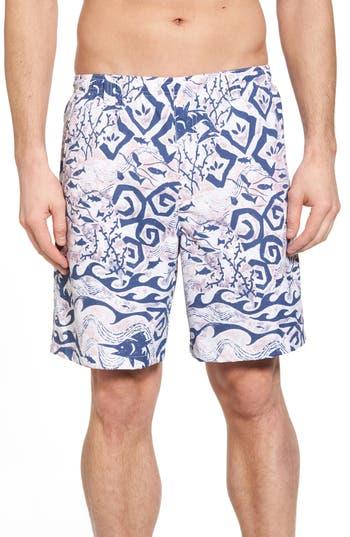 Columbia Pfg Backcast Ii Print Swim Trunks, Blue