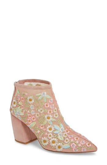 Jeffrey Campbell Total Ankle Bootie, Pink