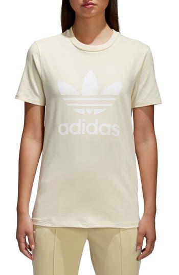 Adidas Trefoil Tee, Yellow