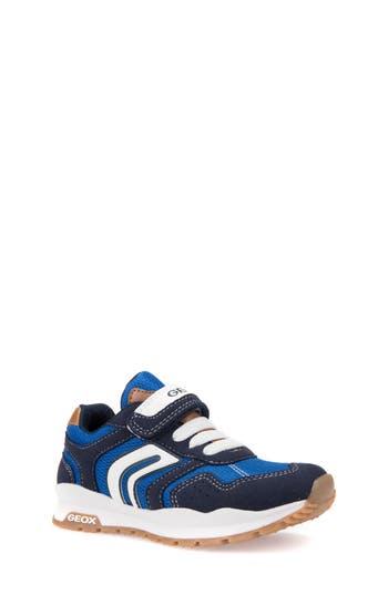 Boys Geox Pavel Low Top Sneaker Size 6.5US  40EU  Blue