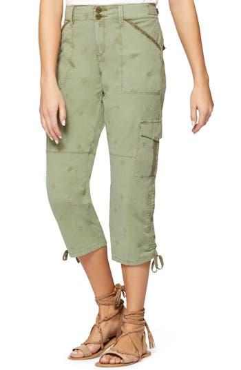 Sanctuary Terrain Crop Cargo Pants, Green
