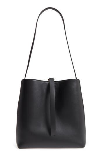 Proenza Schouler Frame Leather Shoulder Bag - Black