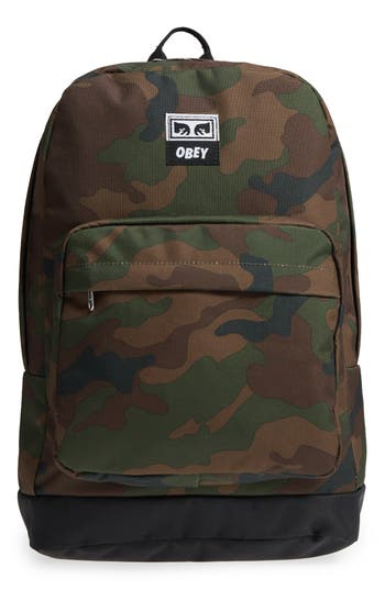 Obey Drop Out Juvee Backpack - Green