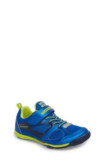 Boys Tsukihoshi Mako Washable Sneaker Size 3.5 M  Blue