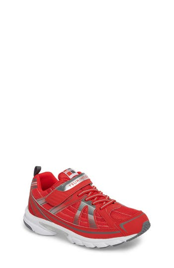 Boys Tsukihoshi Storm Washable Sneaker Size 4 M  Red