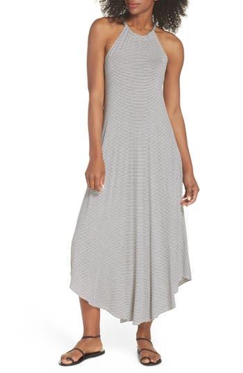 Elan High Neck Cover-Up Dress, Blue