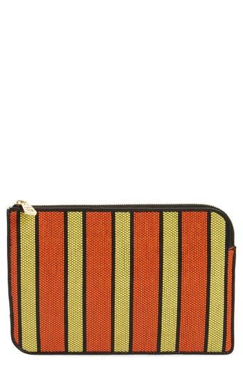 Diane Von Furstenberg Medium Zip Pouch - Orange