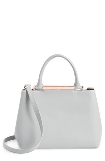 Ted Baker London Anabel Leather Satchel - Grey