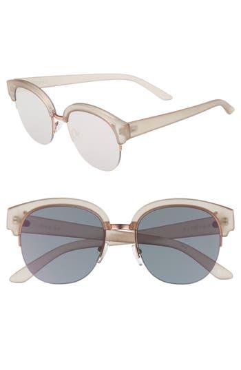 Women's Seafolly Wategos 53Mm Cat Eye Sunglasses - Tan