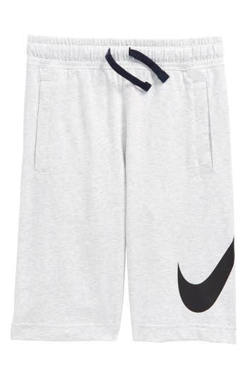 Boys Nike Sportswear Jersey Shorts