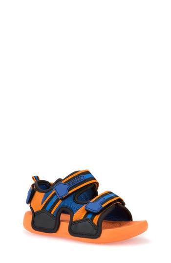 Boys Geox Ultrak Sandal Size 6US  39EU  Orange