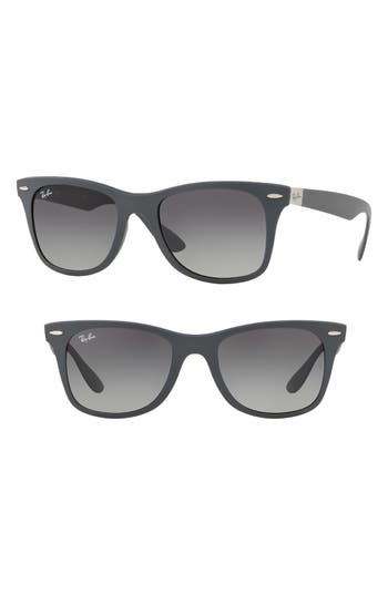 Ray-Ban Wayfarer Liteforce 52Mm Sunglasses - Grey