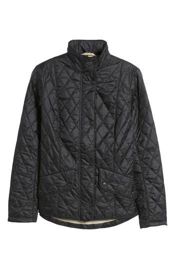 Barbour Cavalry Flyweight Quilt Jacket, US / 8 UK - Black