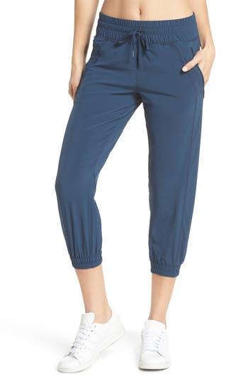Zella Out & About 2 Crop Pants, Blue