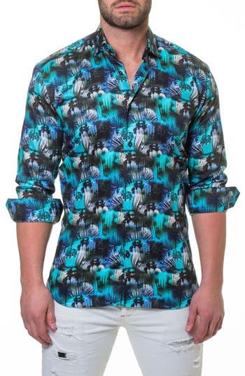Men's Maceoo Luxor Miami Slim Fit Sport Shirt