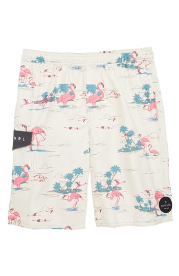 Boys Rip Curl Stone Swim Trunks