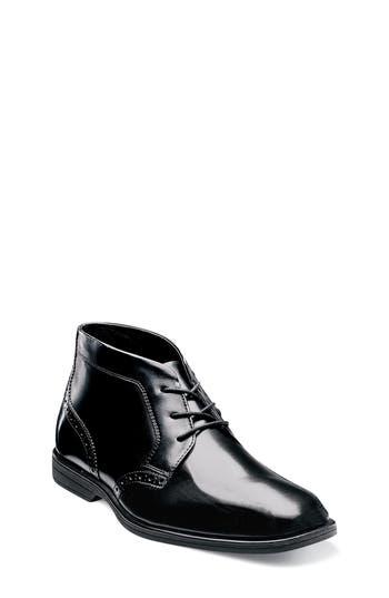 Boys Florsheim Reveal Chukka Boot Size 3.5 M  Black