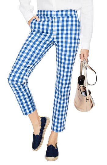 Boden Richmond Capri Trousers, Blue