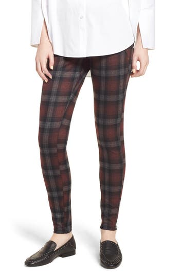 HUE BRUSHED PLAID COWGIRL LEGGINGS